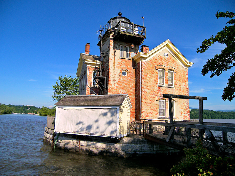 The 1940's saw many changes at the Saugerties Lighthouse beginning with Coast Guard personnel supplanting the old Lighthouse Service employees.  Several upgrades were made as electricity, steam heat and a telephone were added to the station.