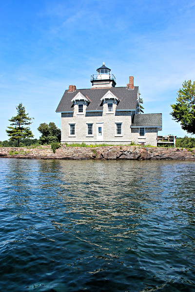 The Sister Islands are a collection of three tiny islands in the St. Lawrence River.  The Light House Board originally planned to build a lighthouse on the Sister Islands as early as 1859, however gaining title to the land proved problematic and the $4,000 appropriated for the project reverted to the Treasury.  Finally, in 1869 the government purchased the islands for $142.33 and plans moved forward.
