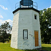 As the Erie Canal neared completion in the 1820's Congress appropriated $4,500 in 1824 to build the first lighthouse on the Hudson River to address the anticipated increase in marine traffic.