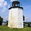Cornelius W. Lansing was appointed the first Keeper of the Stony Point Light in October 1826.  On December 1, 1826 Keeper Lansing lit the eight oil lamps in the lantern for the first time.