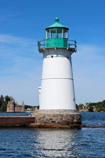 In 1912 Horace E. Walts transferred from the Oswego Lighthouse to become the Keeper at Sunken Rock.  During his tenure on the Rock, Walts was awarded nine consecutive annual efficiency stars by the District Inspector.  To recognize this amazing accomplishment Walts was presented with a permanent gold efficiency star with a diamond in its center.