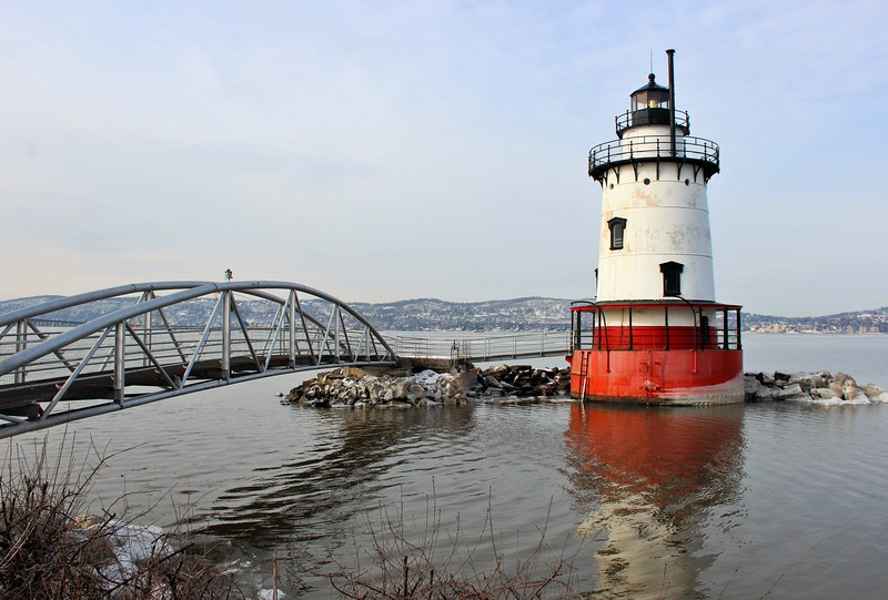 For years the lighthouse fell into disrepair until in 1974 ownership was transferred to Westchester County who constructed a walkway from Kingsland Point Park to the tower.  A metal footbridge was constructed to connect the light to the shore and in 1979 the lighthouse was added to the National Register of Historic Places.  The lighthouse was opened to the public on its 100th anniversary October 1, 1983.