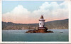 An old postcard view of the Tarrytown Lighthouse