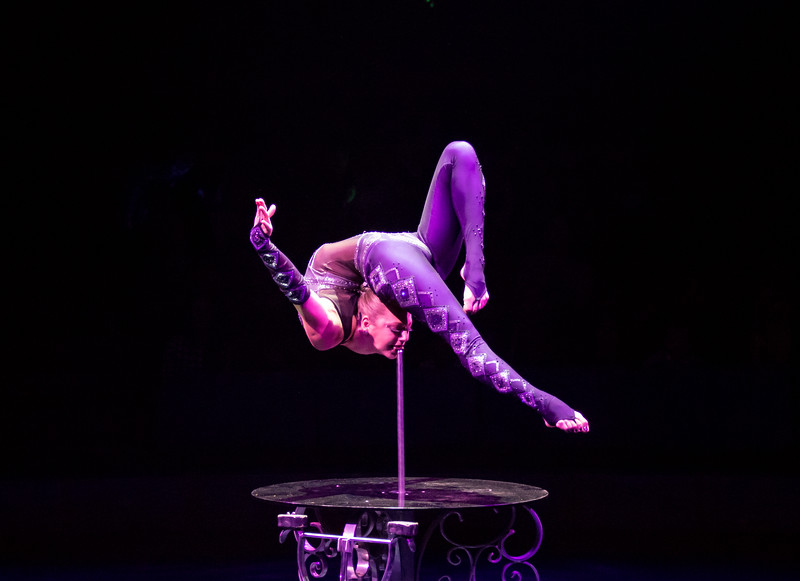 Elayne Kramer, Big Apple Circus, 2017