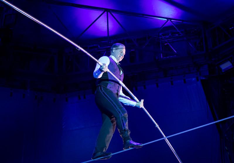 Nik Wallenda, Big Apple Circus, 2017