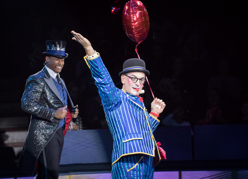 Joel Jeske and Ty McFarlan, Big Apple Circus, 2017