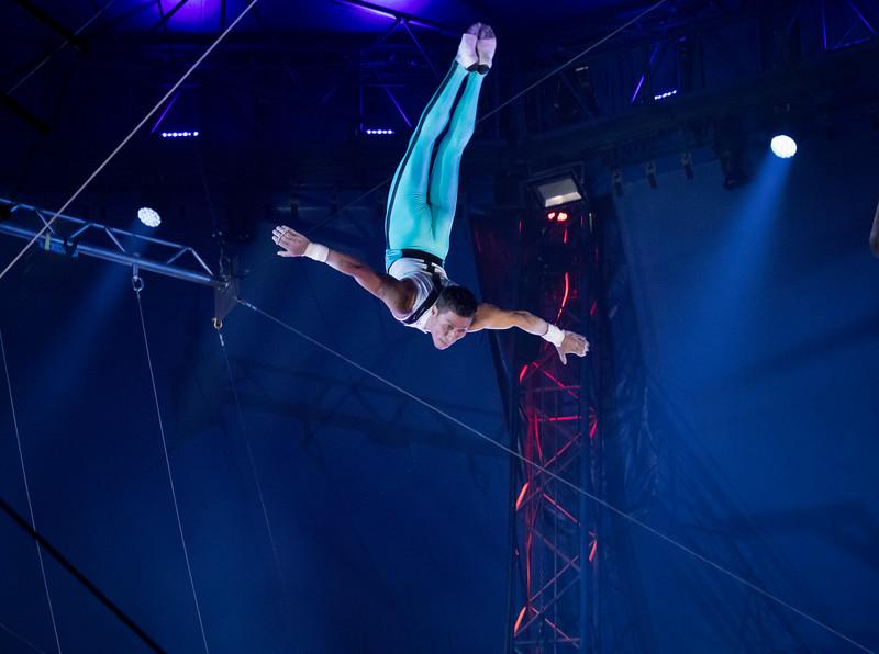 Flying Tunizianis Troupe, Big Apple Circus, 2017