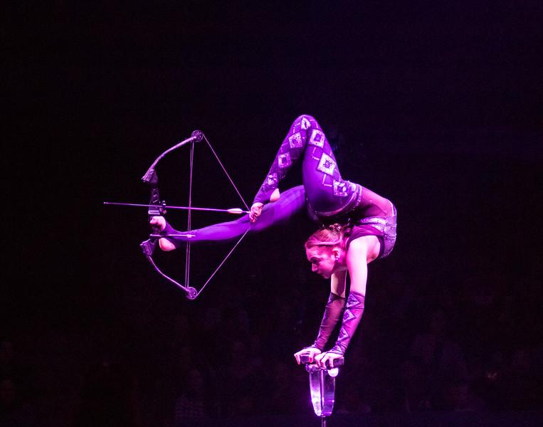 Elayne Kramer, Big Apple Circus, 2017
