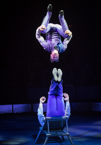 The Anastasini Brothers, Big Apple Circus, 2017