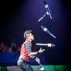Gamal Garcia Tuniziani, Big Apple Circus, 2017