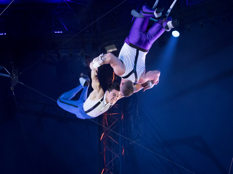 Ammed Tuniziani, Big Apple Circus, 2017