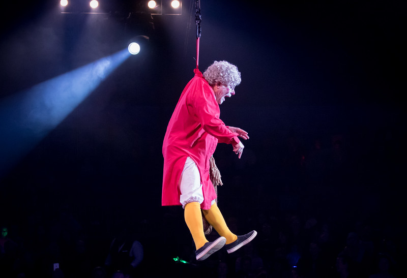 Grandma, Barry Lubin, Big Apple Circus, 2017
