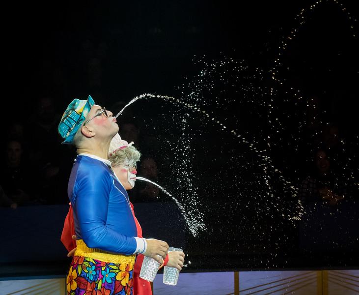Joel Jeske and Barry Lubin, Big Apple Circus, 2017