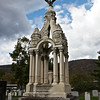 """Daniel Butterfield's Grave, United States Military Academy at West Point, New York <br><br> The cemetery was one of the highlights of our tour of the U.S. Military Academy at West Point in the fall of 2011. Notable people buried there include football coach Red Blaik, Lucius Clay (father of the Berlin Airlift), George Custer, Frederick Grant (son of U.S. Grant), Winfield Scott, and William Westmoreland.  <br><br> One of the most prominent and ornate gravesites is Daniel Butterfield's, the composer of the bugle call Taps. Taps used to signal lights out at the end of the day and is played by the military at funerals and memorial services. The 24-note bugle call is sad and haunting; I feel like crying every time I hear it. Here is an audio clip from <a href=""""http://www.armystudyguide.com/content/army_board_study_guide_topics/customs_and_courtesies/bugler-playing-taps-in-mp3.shtml"""">Army Study Guide.</a>  <br><br> From <a href=""""http://www.west-point.org/taps/Taps.html"""">WestPoint.org</a>, """"Daniel Adams Butterfield (31 October 1831-17 July 1901) was born in Utica, New York and graduated from Union College at Schenectady. He was the eastern superintendent of the American Express Company in New York when the Civil War broke out. Despite his lack of military experience, he rose quickly in rank. A Colonel in the 12th Regiment of the New York State Militia, he was promoted to Brigadier General and given command of a brigade of the V Corps of the Army of the Potomac. The 12th served in the Shenandoah Valley during the Bull Run Campaign. During the Peninsular Campaign Butterfield served prominently when during the Battle of Gaines Mill, despite an injury, he seized the colors of the 83rd Pennsylvania and rallied the regiment at a critical time in the battle. Years later, he was awarded the Medal of Honor for that act of heroism. <br><br> As the story goes, General Butterfield was not pleased with the call for Extinguish Lights feeling that the call was too formal to signal the da"""