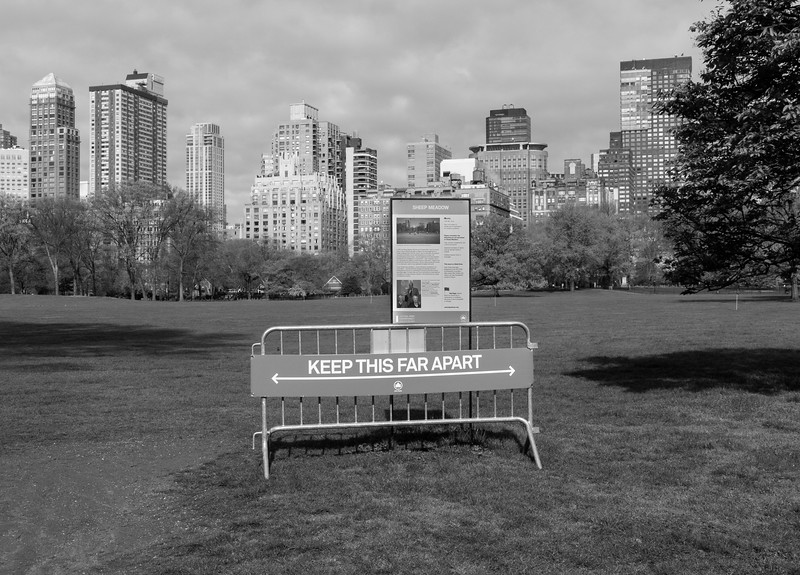 Central Park During the COVID Crisis, Saturday Morning, April 25, 2020