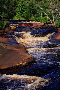 Grasse River Rapids -- Copper Rock Falls Trail