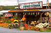 Alyce and Rogers Fruit Stand in Mount Tremper, New York, USA.