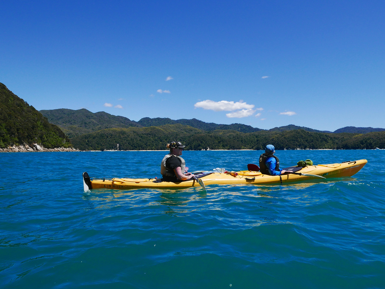 Kelly Emma Abel Tasman Kayaking January 2016