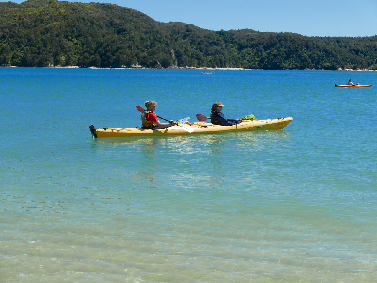 Jan Meg Abel Tasman Kayaking January 2016