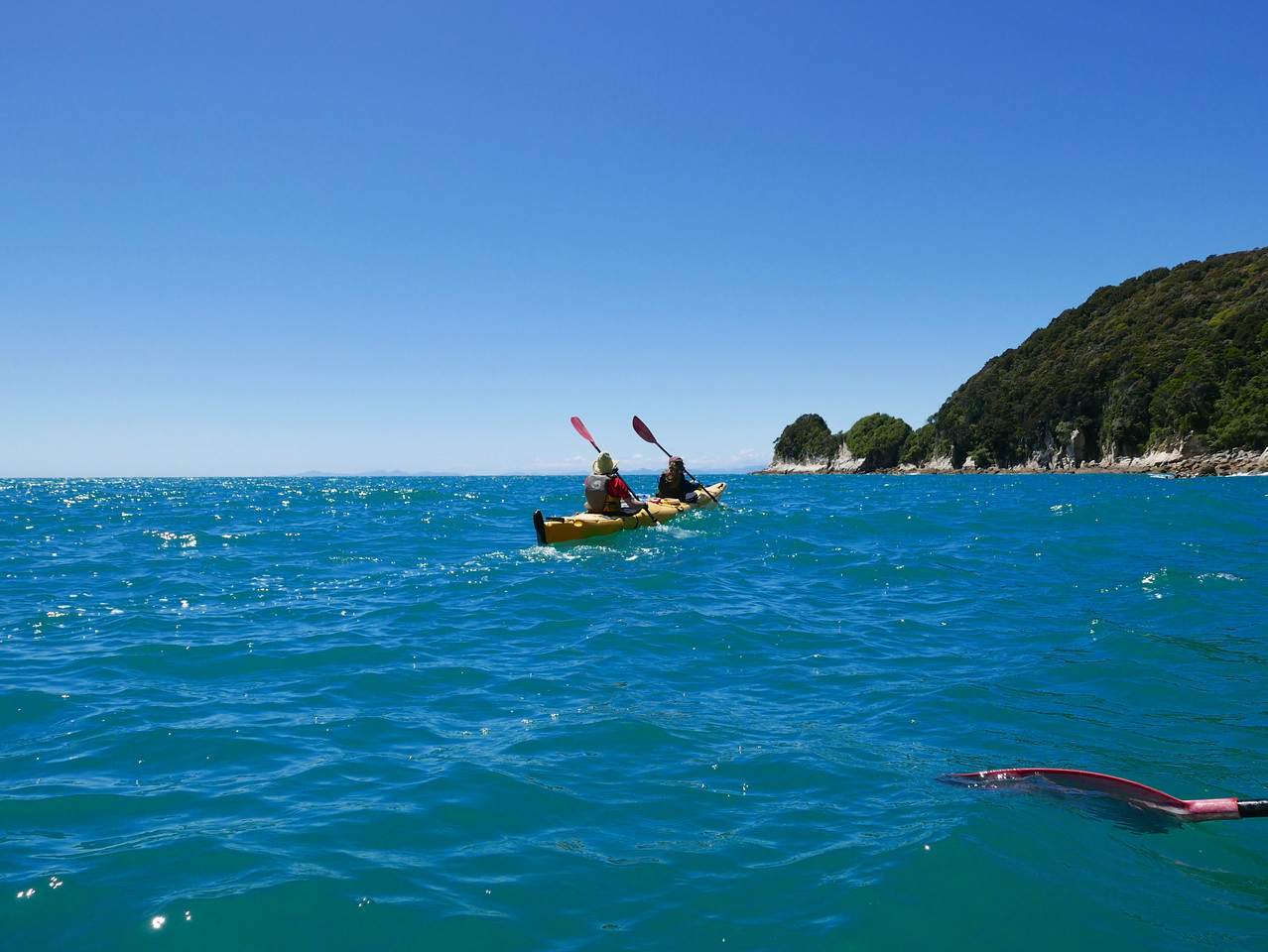 Jan Meg Abel Tasman Kayaking January 2016