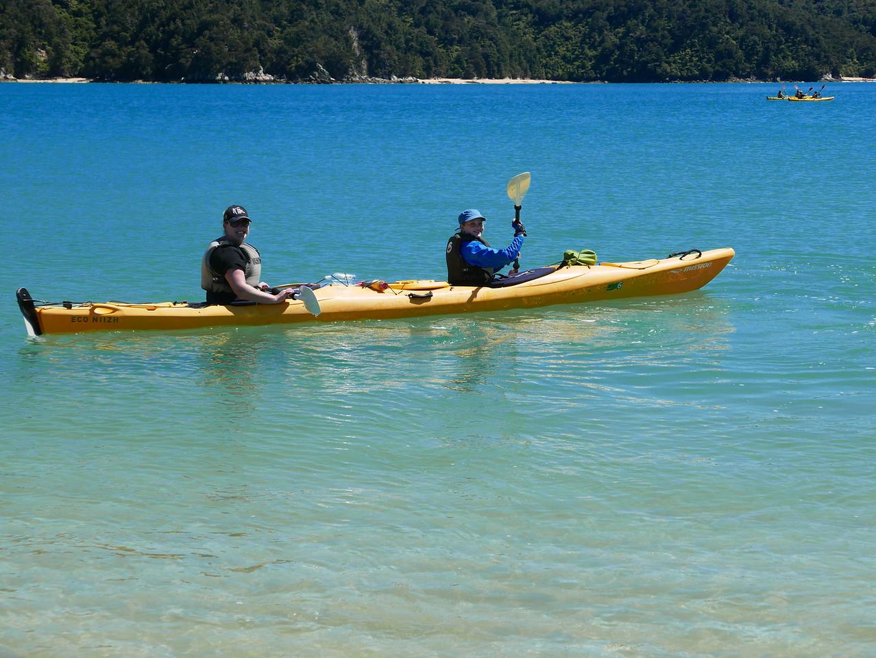 Kelly Emma Abel Tasman Kayaking January 2016