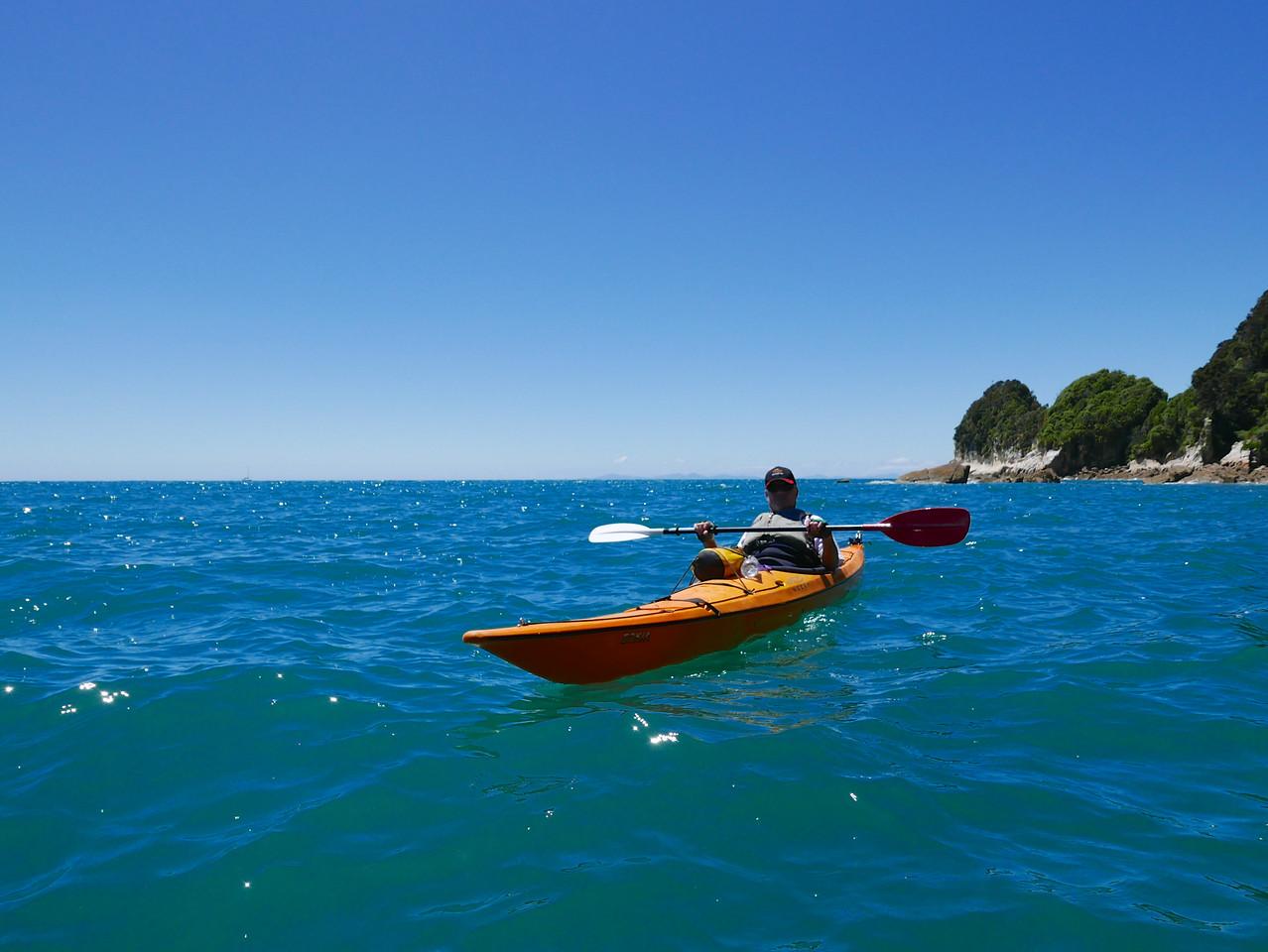 Robert Abel Tasman Kayaking January 2016