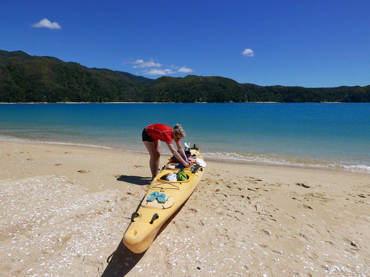 Jan Abel Tasman Kayaking January 2016