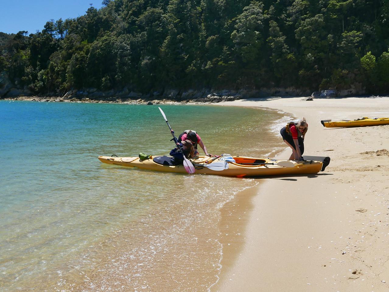 Meg Kim Jan Abel Tasman Kayaking January 2016