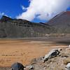 South Crater Mt NgauruhoeTongariro Alpine Crossing Summer January 2016