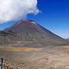 South Crater Mt Ngauruhoe Tongariro Alpine Crossing Summer January 2016