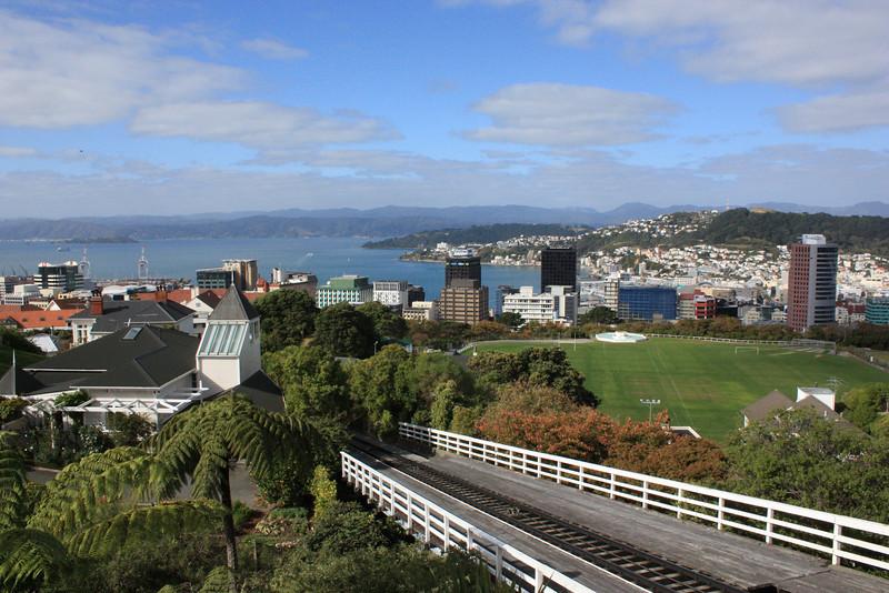 Wellington Cable Car in Wellington, New Zealand.