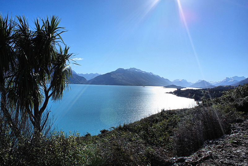 Peering into Paradise... the road from Queenstown to Glenorchy, New Zealand.