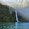 Milford Sound, New Zealand, home to dolphins and blue penguins.