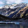 Hooker Valley Glacier Lake in Aoraki / Mt. Cook National Park, New Zealand.