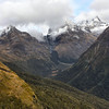 Beautiful Mt. Aspiring National Park, New Zealand.  The Southern Alps are prominently featured in the Lord of the Rings trilogy as the Misty Mountains.