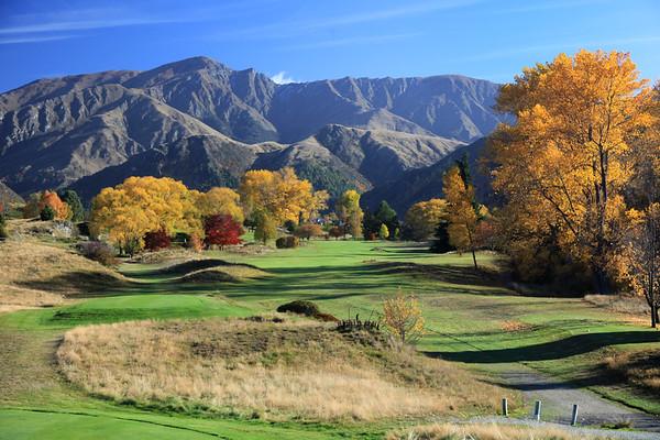 Arrowtown Golf Club, Queenstown, New Zealand , Hole 13