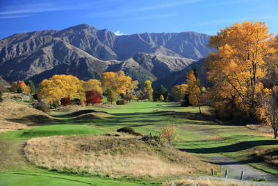 Arrowtown Golf Club, Queenstown, New Zealand , Hole 13