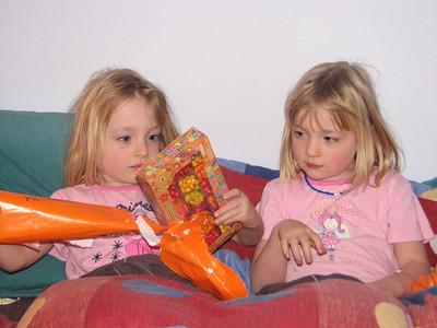2006 Meg Emma 5th Birthday - 011