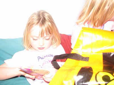 2006 Meg Emma 5th Birthday - 004