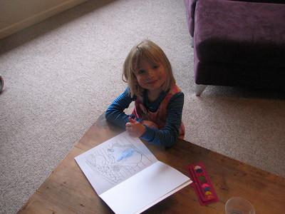 2006 Meg Emma 5th Birthday - 025
