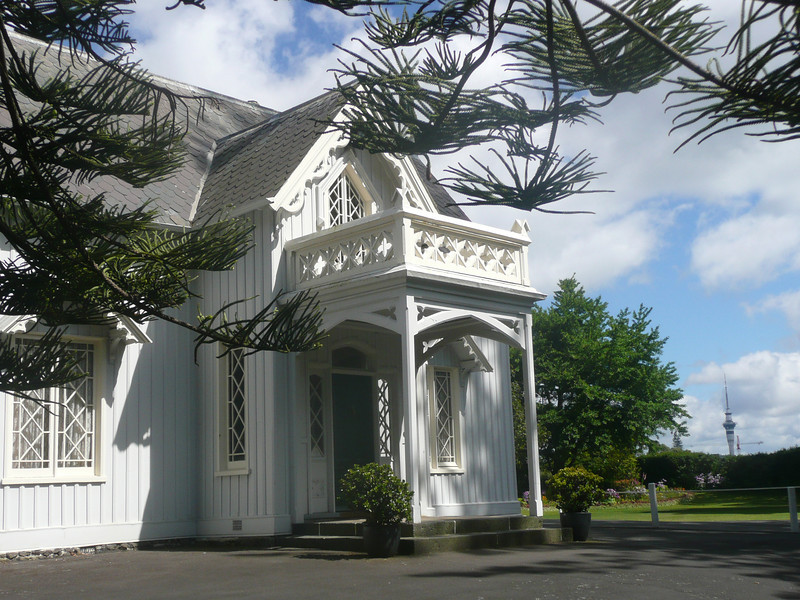 Auckland, historic home.