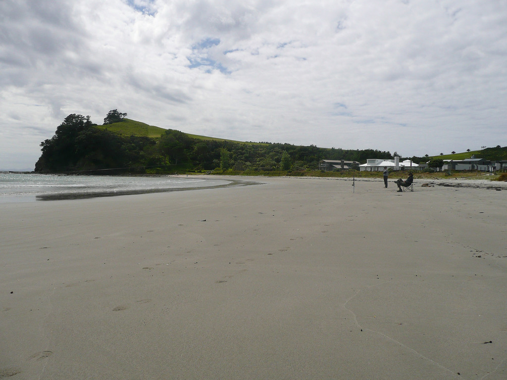 Omaha Beach, about 1.5hr north of Auckland.
