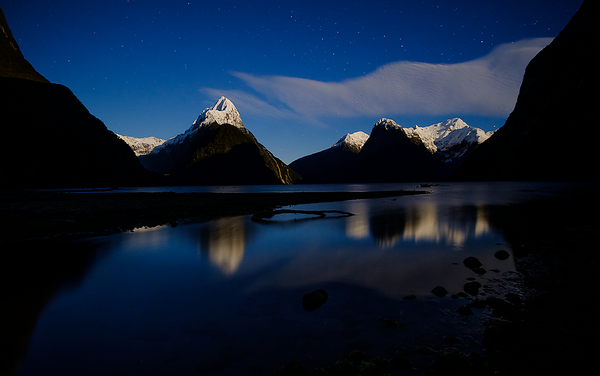 Milford in Moonlight