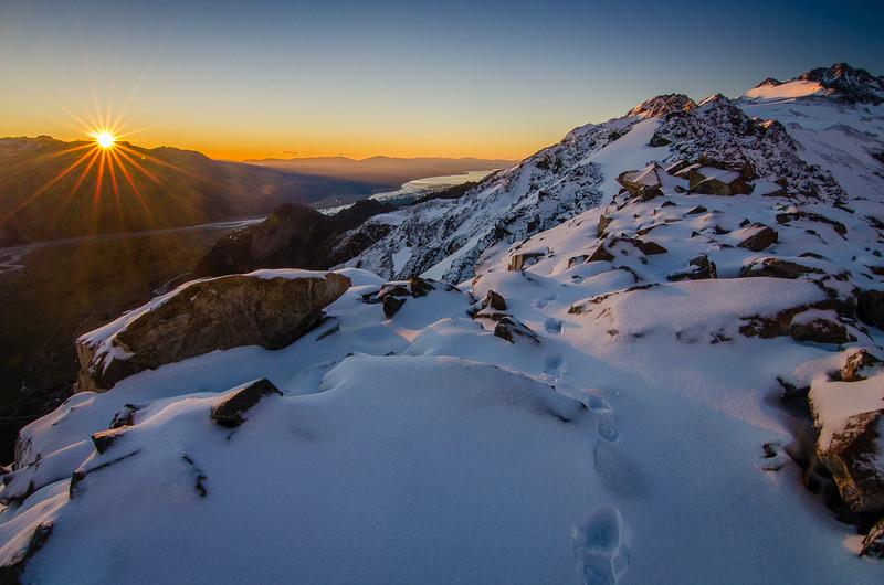 Mount Olivier Dawn
