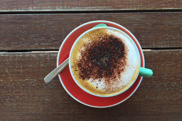Cappuccino, Scratch Bakers, Auckland, New Zealand