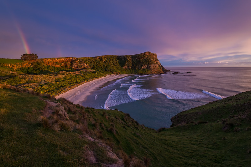 "A Morning of Color over ""Shipwreck Cove"""