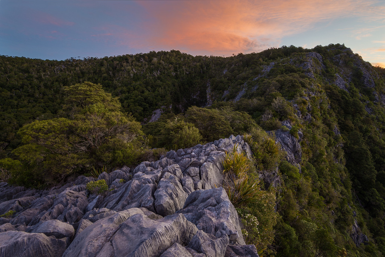 Karst Ridge Sunset