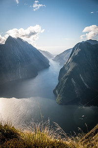 Milford Sound/Piopiotahi in Afternoon Gold