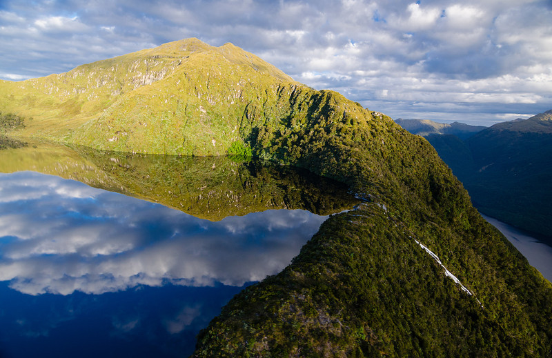 Lakes upon waterfalls upon fiords..
