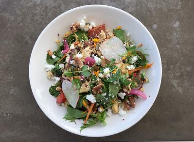 Grilled Chicken Garden Salad, Brick Bay Vineyards, Matakana, New Zealand